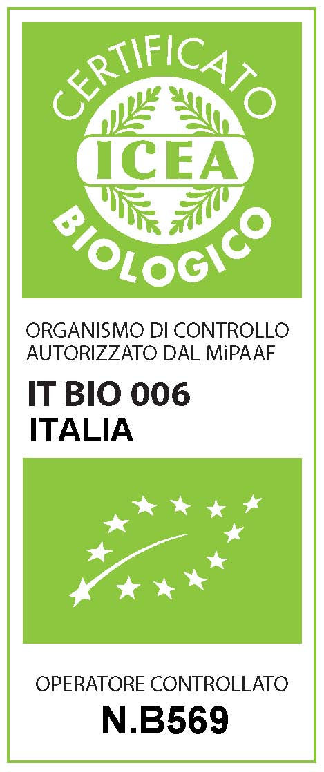 Organic certified by ICEA